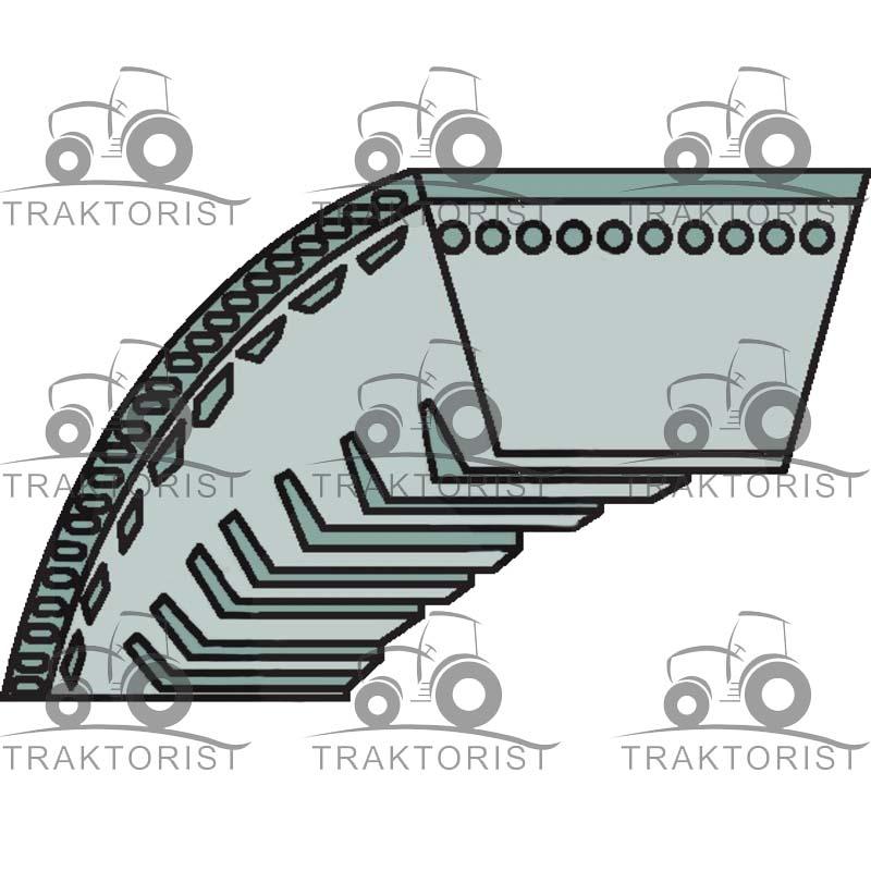 Fahrantrieb Keilriemen 460376 für AL-KO 470 HW Easy-Mow 4610 HPD 4700 4700 BR